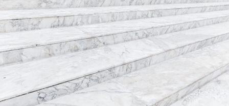 סוגים שונים של מדרגות שיש